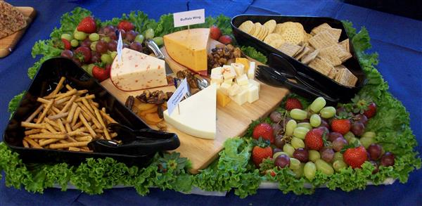 Cheese platter for catering picture