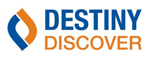 destiny discover logo and link