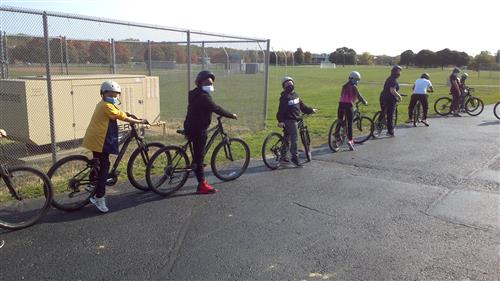 Outdoor Fall Biking Unit